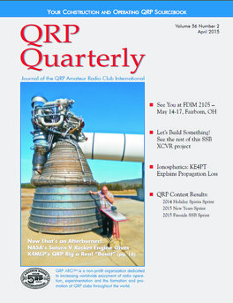 QRP Quarterly - April 2015