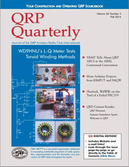QRP Quarterly - Fall 2014