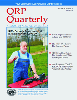 QRP Quarterly - July 2015