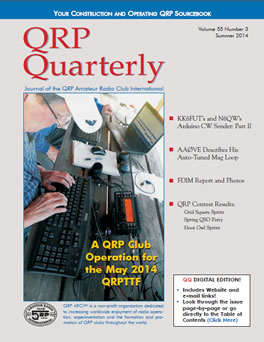 QRP Quarterly - Summer 2014
